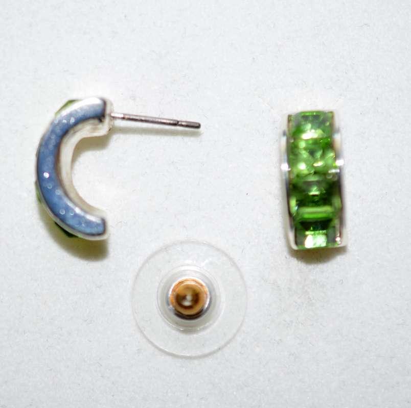 Náušnice Colibra,antialergická úprava,neobsahují nikl,postříbřeno nebo pozlaceno(dle provedení),osazeno kameny SWAROWSKI CRYSTALS.
