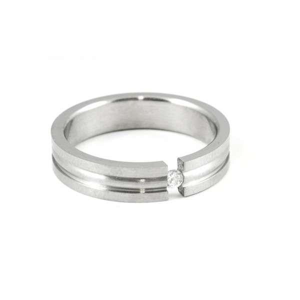 Prsten z chirurgické oceli RZS061 Meucci